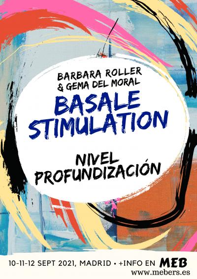Cartel del curso en Estimulación basal nivel profundización